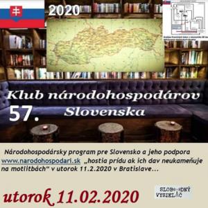 Klub národohospodárov Slovenska 57 (repríza)