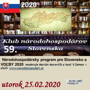 Klub národohospodárov Slovenska 59 (repríza)
