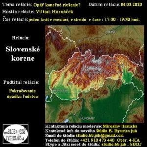 Slovenské korene 57