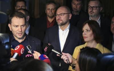 OĽaNO, Sme rodina, SaS a Za ľudí sa dohodli na zostavení vlády.
