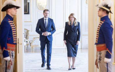 Po rozhovore s Kiskom, Sulíkom a Kollárom prezidentka Čaputová dospela k rozhodnutiu: V stredu poverí Matoviča zostavením vlády.