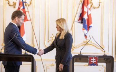 Prezidentka poverila Matoviča zostavením vlády.