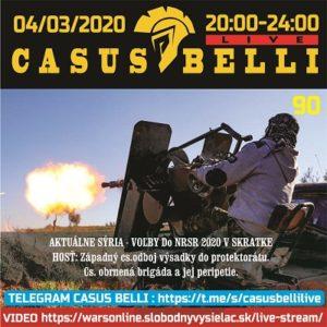 Casus belli 90 (repríza)