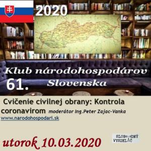 Klub národohospodárov Slovenska 61