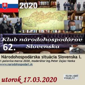 Klub národohospodárov Slovenska 62 (repríza)