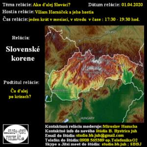 Slovenské korene 58