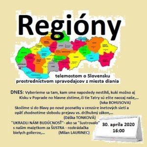 Regióny 08/2020 (repríza)