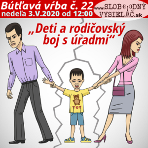 Bútľavá vŕba 22 (Deti a rodičovský boj s úradmi) repríza