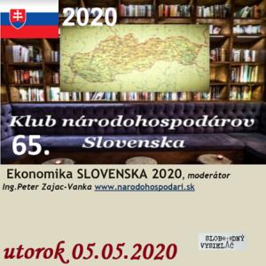 Klub národohospodárov Slovenska 65 (repríza)