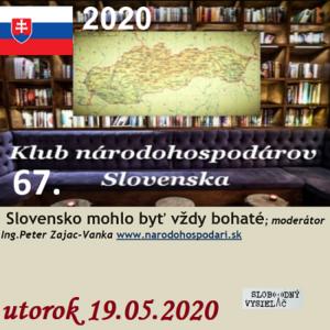 Klub národohospodárov Slovenska 67