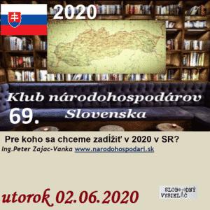 Klub národohospodárov Slovenska 69