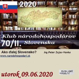 Klub národohospodárov Slovenska 70/II. (repríza)