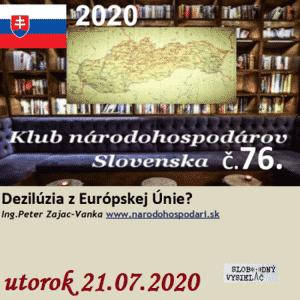 Klub národohospodárov Slovenska 76