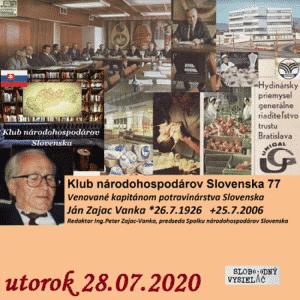 Klub národohospodárov Slovenska 77 (repríza)