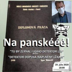 Na panské 29/2020 (humoristický týždenník)