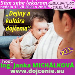 Sám sebe lekárom 233 (Dejiny a kultúra dojčenia)