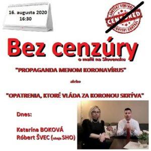 Bez cenzúry 11/2020 (repríza)