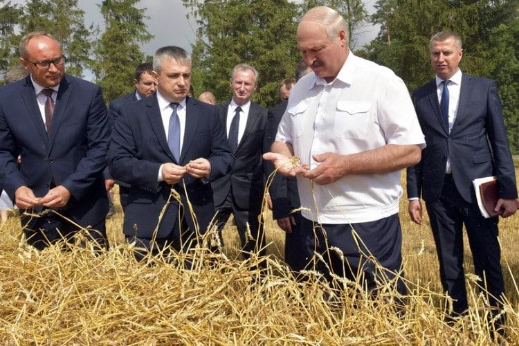 Nekrológ za Lukašenkom / Keď padne baťka. 1