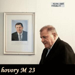 hovory M 23 (repríza)