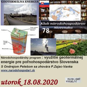 Klub národohospodárov Slovenska 78 (repríza)