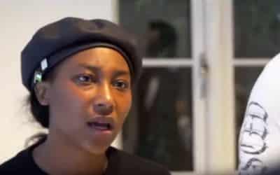 """Aktivistka BLM zakladá prvú černošskú stranu v Európe– cieľom je: """"zotročiť bielych mužov""""."""