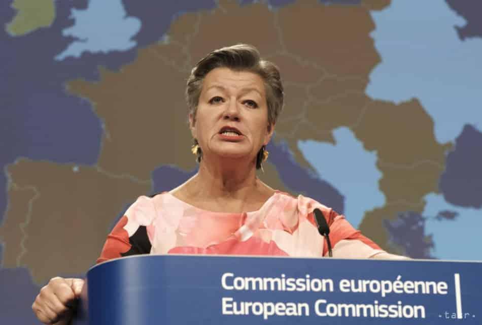 Johanssonová chce, aby boli krajiny EÚ solidárnejšie ohľadom migrácie. 1