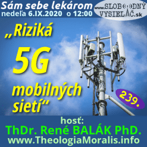 Sám sebe lekárom 239 (Riziká mobilných 5G sietí) repríza