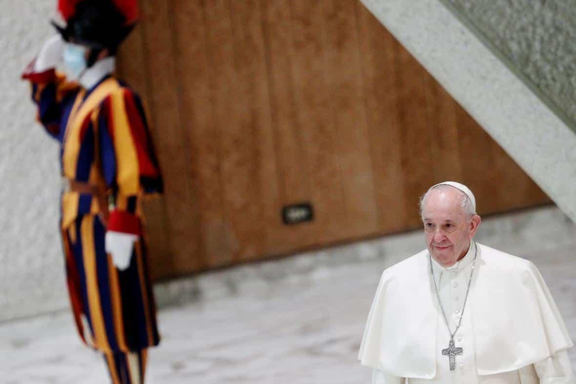 Slova papeže o partnerství homosexuálů byla zmanipulována, uvedl vatikánský server. 1