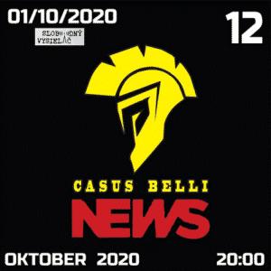 Casus belli news 12 (repríza)
