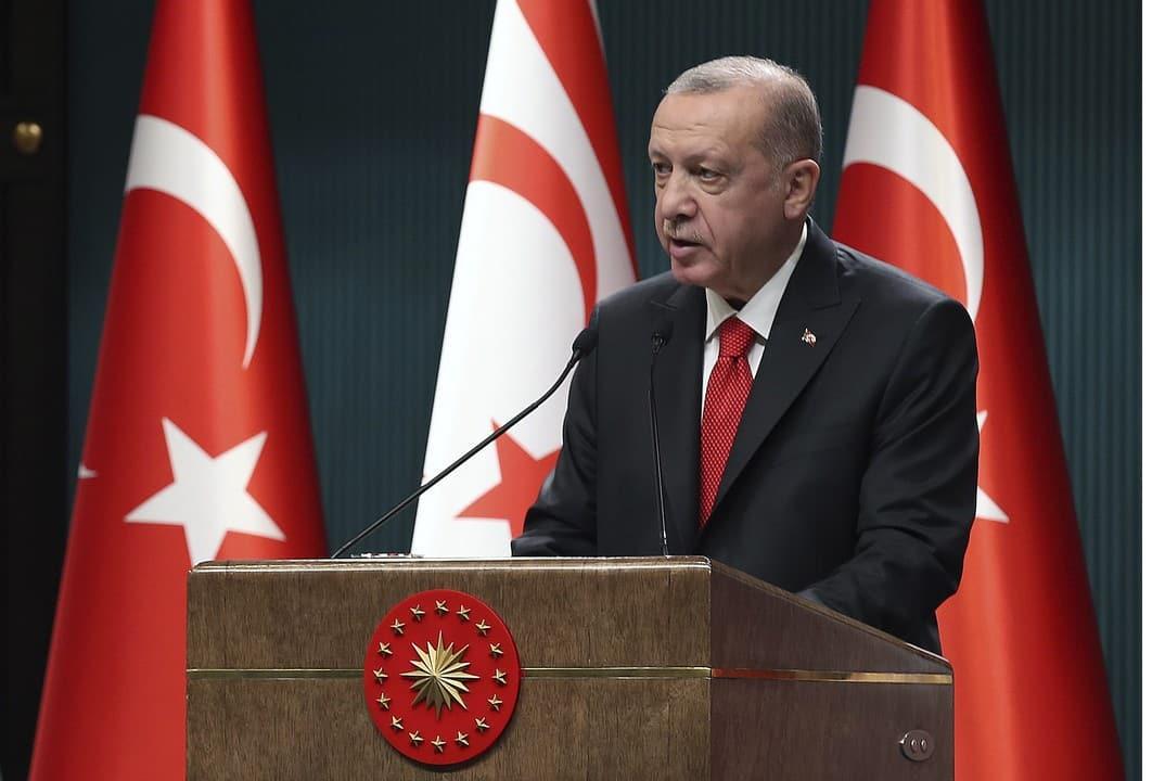 Erdogan vyzval na rokovania o trvalom rozdelení Cypru na dva štáty. 1