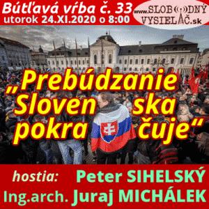 """Bútľavá vŕba 33 (""""Prebúdzanie Slovenska pokračuje"""")"""