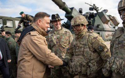 Poľsko a USA podpísali dohodu, ktorá posilňuje vojenskú prítomnosť USA v krajine.