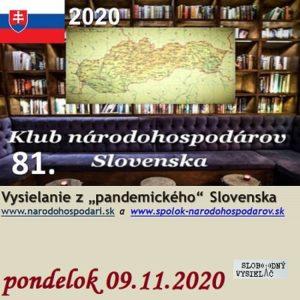 Klub národohospodárov Slovenska 81
