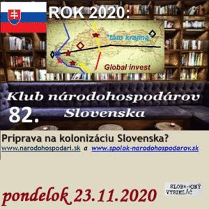 Klub národohospodárov Slovenska 82