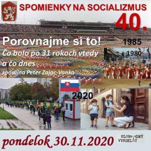 Spomienky na Socializmus 40