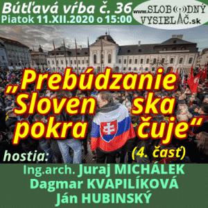 """Bútľavá vŕba 36 (""""Prebúdzanie Slovenska pokračuje"""") 4. časť (repríza)"""