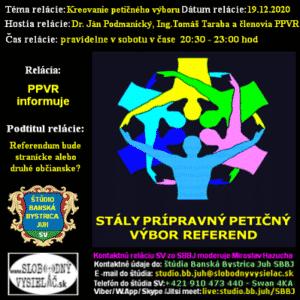 Prípravný petičný výbor referend 12 (repríza)