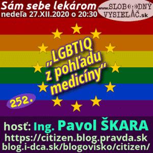 Sám sebe lekárom 252 (LGBTIQ z pohľadu medicíny)