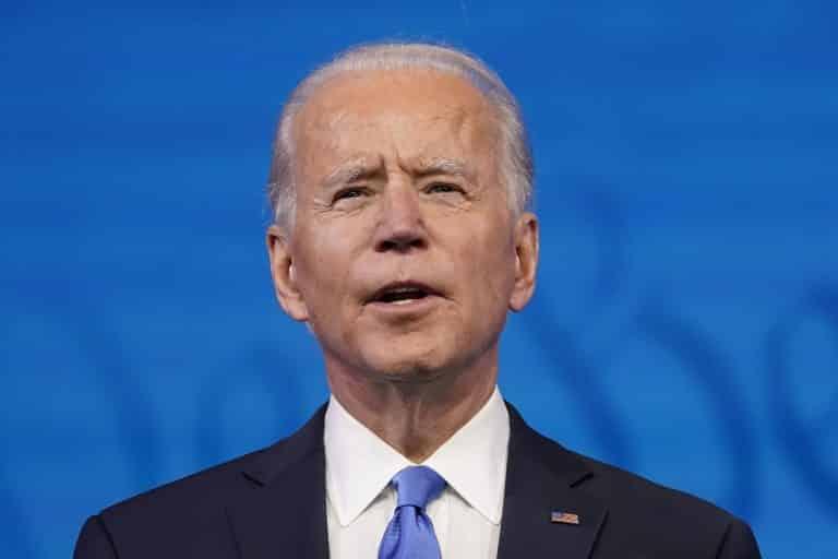 Joe Biden sa stal 46. prezidentom Spojených štátov. 1