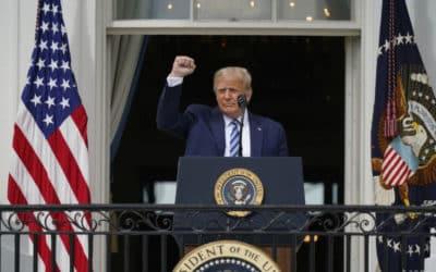 Trump v rozlúčkovom prejave Bidenovej vláde zaželal všetko dobré.