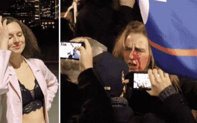 Študentka udala mamu za účasť na protestoch pred Kapitolom. Teraz prosí verejnosť o peniaze.
