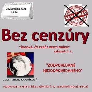 Bez cenzúry 02/2021 (repríza)
