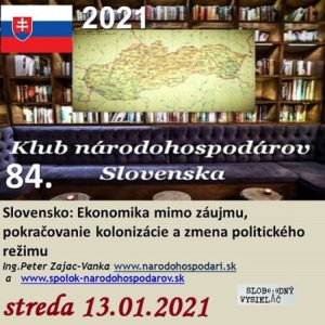 Klub národohospodárov Slovenska 84 (repríza)