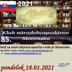 Klub národohospodárov Slovenska 85 (repríza)