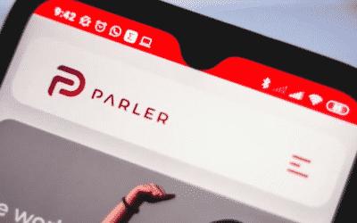 Riaditeľ sociálnej siete Parler hovorí o skorom návrate.