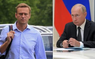 Čerstvý průzkum Levada Center ohledně jak si stojí Putin v Rusku / a jak Navalnyj/.