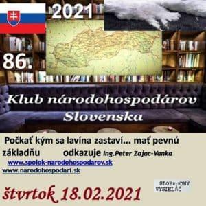 Klub národohospodárov Slovenska 86 (repríza)