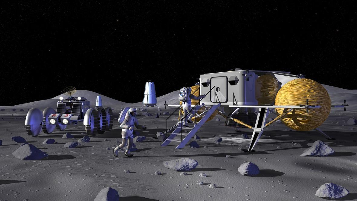 Rusko a Čína se dohodly na společném projektu, plánují stanici na Měsíci 1