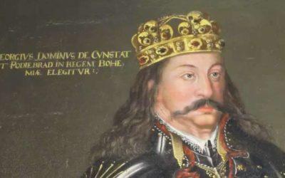 Poslední a vlastně jediný český král zemřel dnes před 550lety.