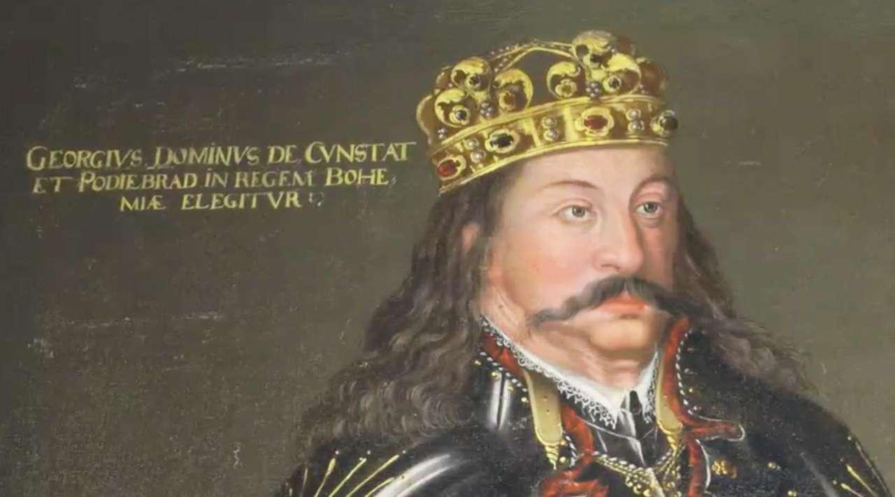 Poslední a vlastně jediný český král zemřel dnes před 550lety. 1